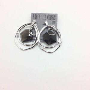 Robert Lee Morris RLM Topaz & Silver Earrings